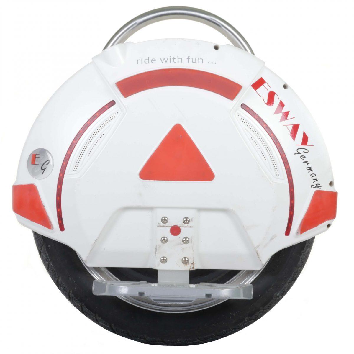 elektrisches Einrad X3 BX8 Speed V1 1418 in weiß/rot der IQ Drive GmbH