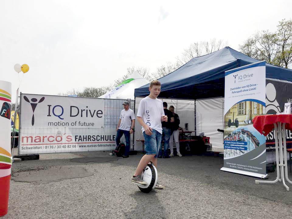IQ Drive Einrad Marcos Fahrschule