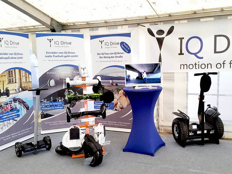 IQ Drive Frühjahrsmesse Müller Landtechnik 2017