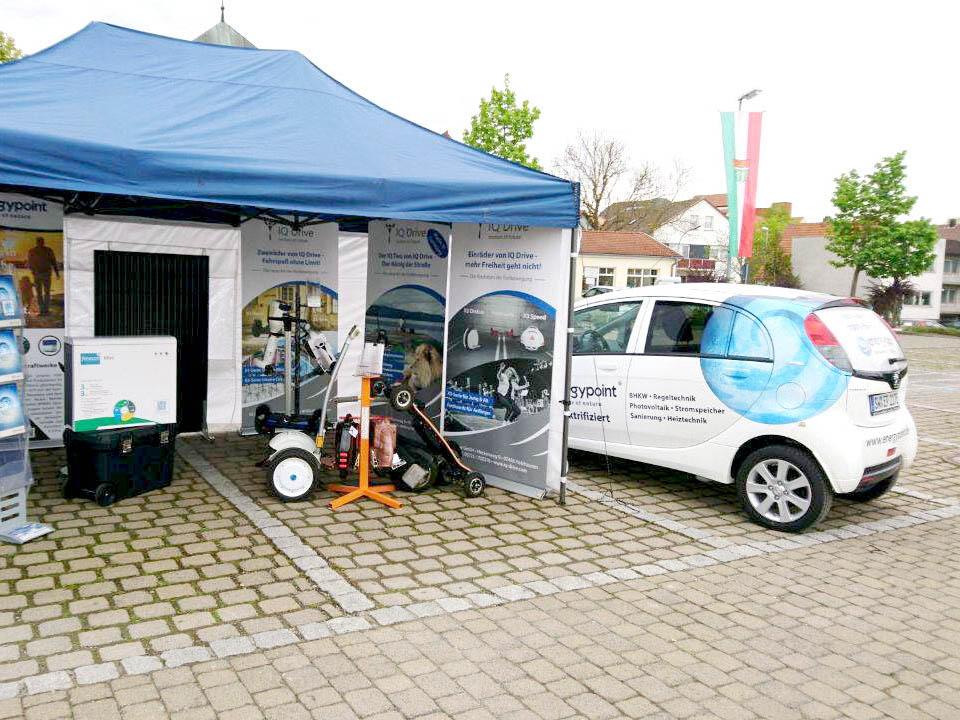 IQ Drive Messe Elektromobilität Bad Neustadt