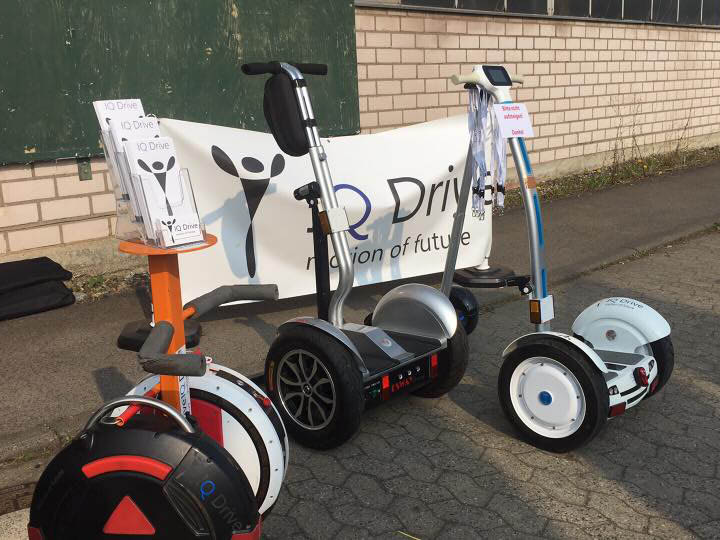 IQ Drive elektrische Einräder und Zweiräder