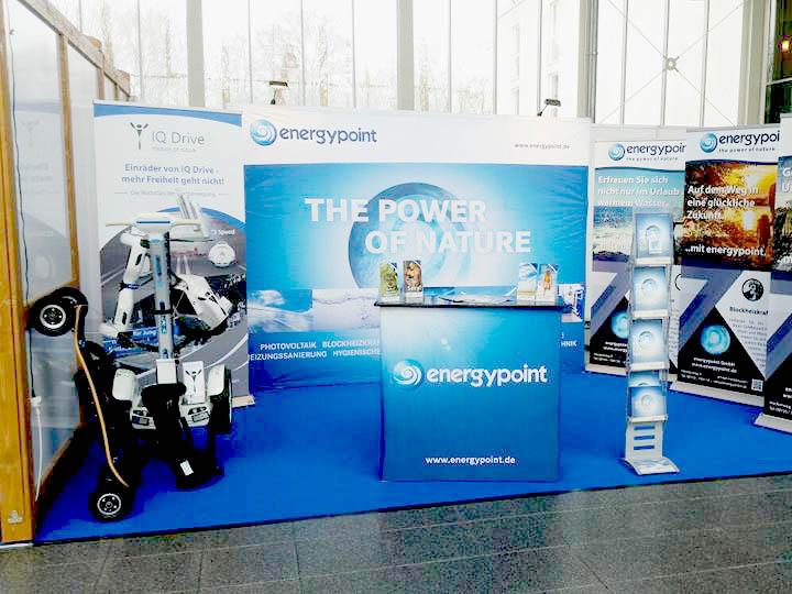 IQ Drive energypoint Messe Schweinfurt Wohnen Bauen Ambiente